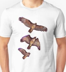 Hawk in Flight Unisex T-Shirt