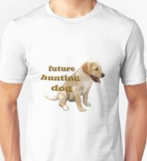 Yellow Lab Puppy Hunting T-Shirt
