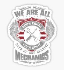 Mechanics Sticker