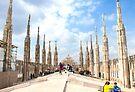 Duomo rooftop. Milan. by terezadelpilar ~ art & architecture
