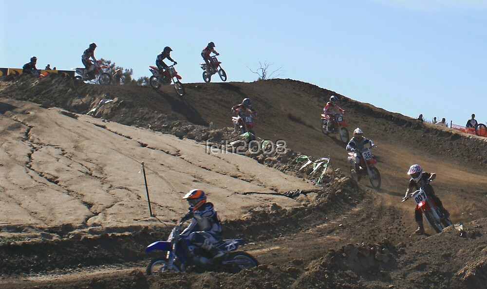 Motocross - Action from the gate @ Cahuilla, MX Vet X Racing  by leih2008