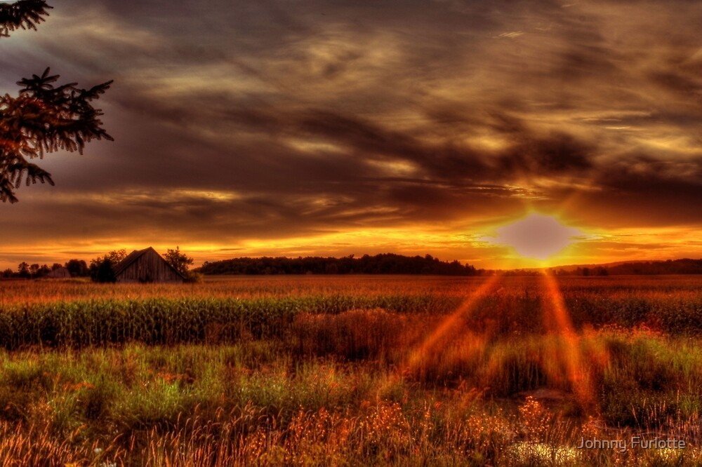 Country Sunset by Johnny Furlotte