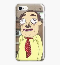 Rick and Morty Ants in my Eyes Johnson  iPhone Case/Skin