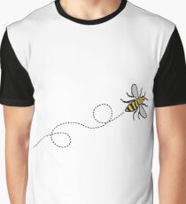 Flying Manchester Bee, Classic Edition Graphic T-Shirt