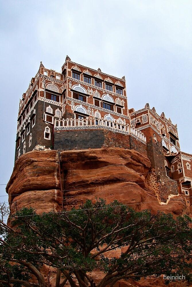 Rock Palace (Dar Al Hajar)  by heinrich