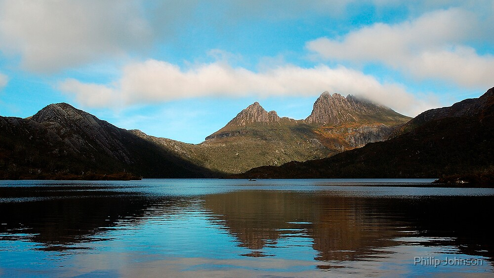 Reflections Through Time - Cradle Mountain, Tasmania by Philip Johnson