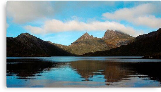 Reflections Through Time - Cradle Mountain, Tasmania by Philip Johnson