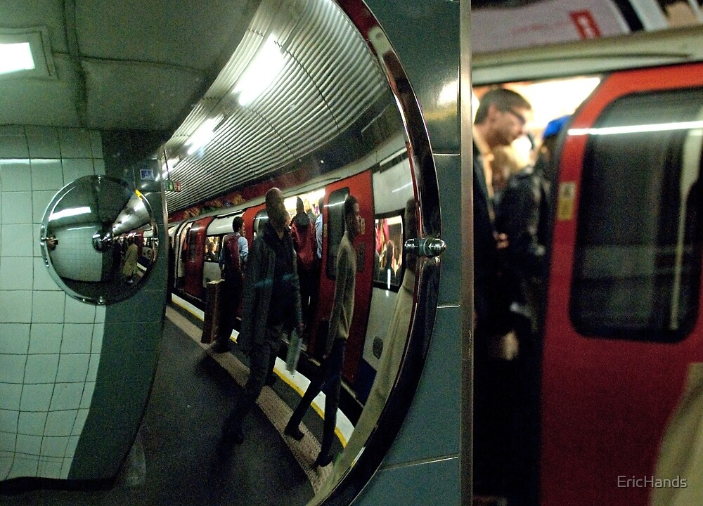 Scene from the London Underground 1 by EricHands