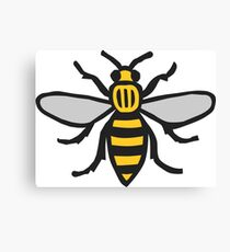 Manchester Bee, Classic Edition Canvas Print