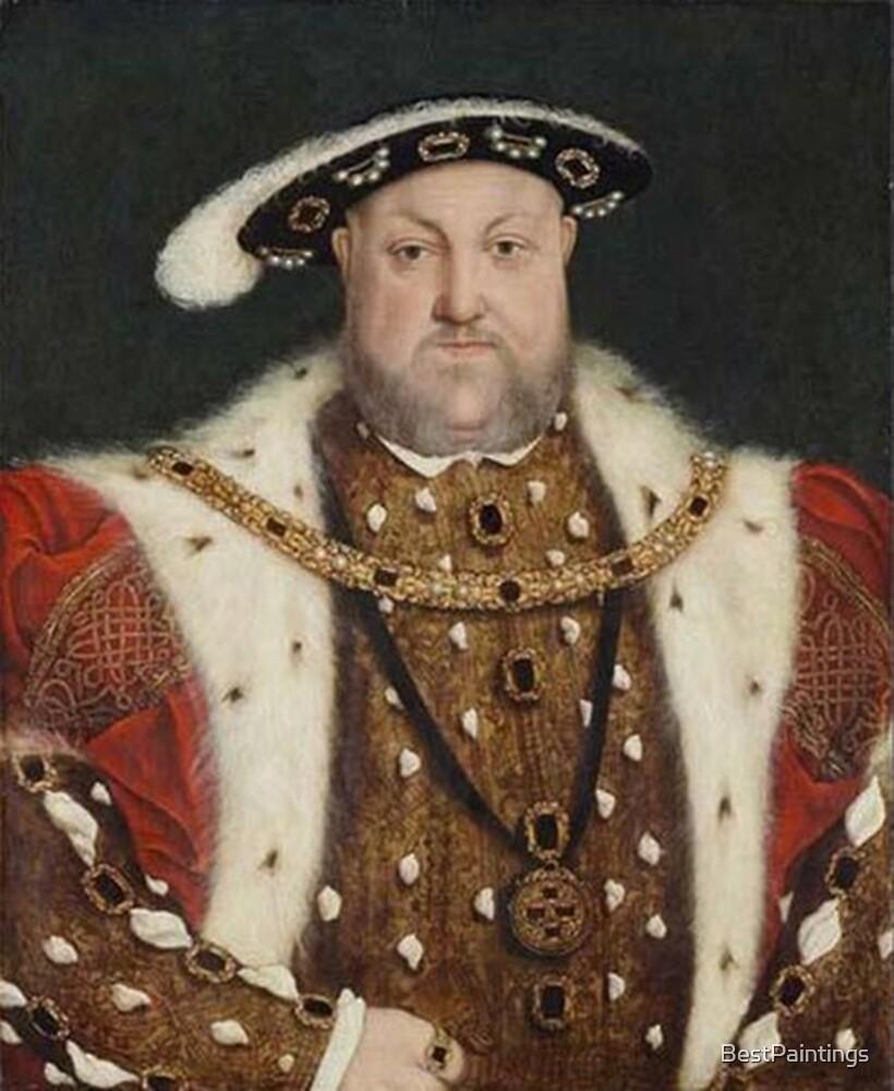 Henry VIII - Hans Holbein by BestPaintings