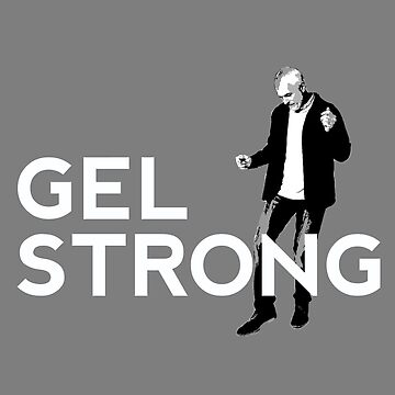 Gel Strong - Grey Tee by gelstrong