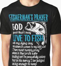 FISHERMAN'S PRAYER Graphic T-Shirt