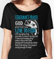 FISHERMAN'S PRAYER Women's Relaxed Fit T-Shirt