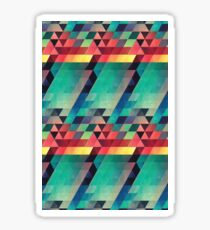 Lava Isometric Patterns Sticker
