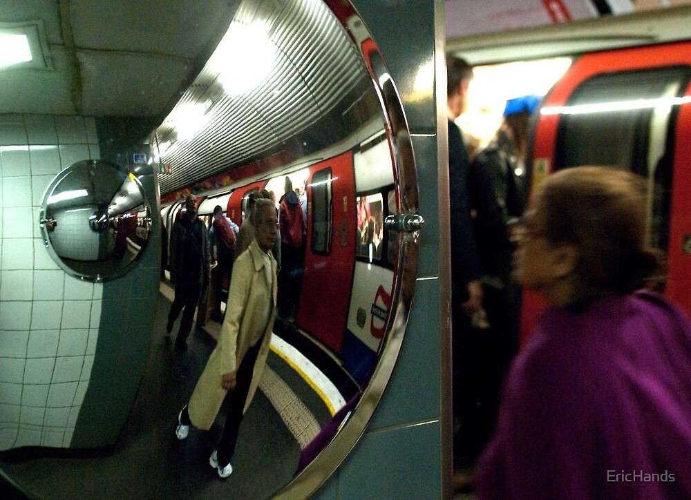Scene from the London Underground 2 by EricHands