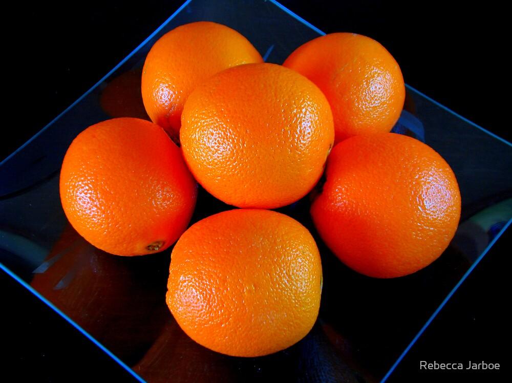 Neon Oranges HDR by Rebecca Jarboe