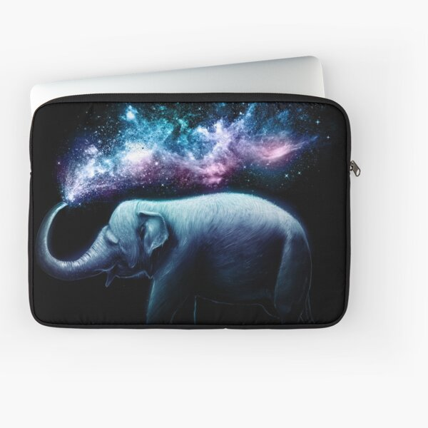 Elephant Splash Laptop Sleeve