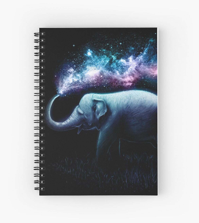 Elephant Splash by nicebleed