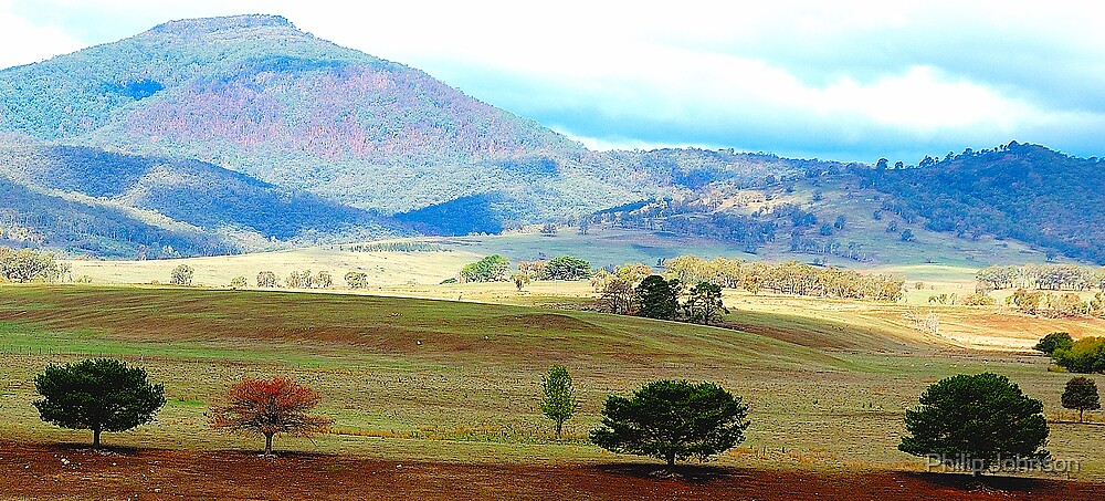 Valley of Colour- Southern NSW, Australia by Philip Johnson