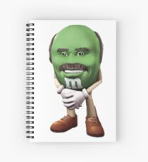 Dr Phil M&M Spiral Notebook