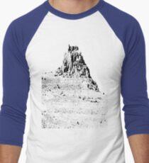 Climb that goddamn mountain Men's Baseball ¾ T-Shirt