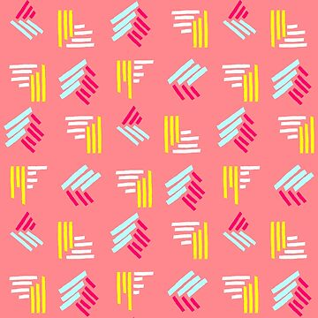 90s Squiggles #redbubble #decor #buyart by designdn