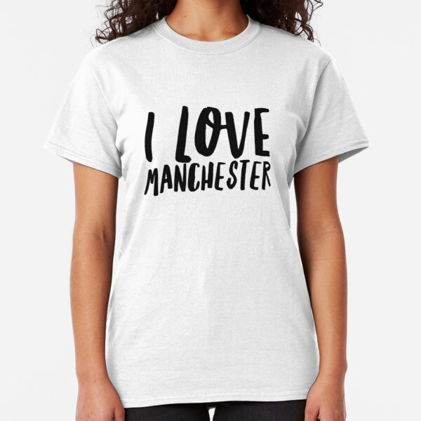 I Love Hearts Stockport Ladies Fitted T-Shirt