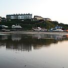 Saltburn at sunset by dougie1