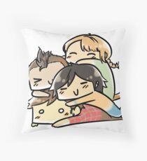 Group hug - LLM Throw Pillow
