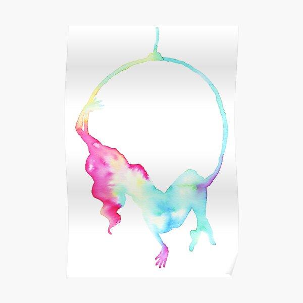 Aerial hoop - aerialist  Poster