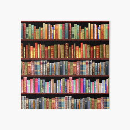 Jane austen antique books, British antique books Art Board Print
