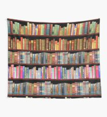Jane austen antique books & other British antique books Wall Tapestry