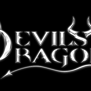 Dogfight's Devils Dragons Squad Logo Items on Black  by swhiplash