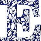 Margin Letter - E (Large) by Biotoho