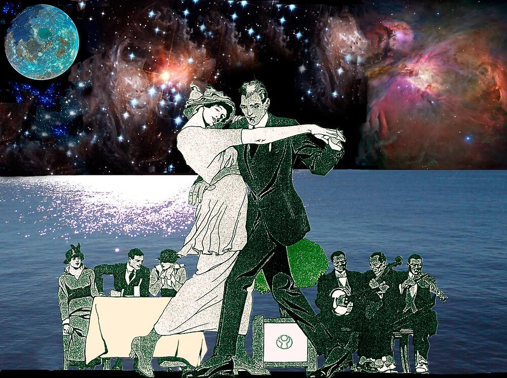 dancing under the blue moon by David s Ellens