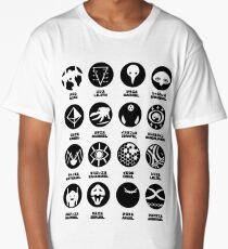 Neon Genesis Evangelion Angels Long T-Shirt