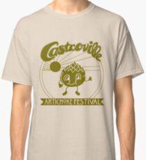 Camiseta clásica El FESTIVAL DE ALCACHOFA ORIGINAL DE CASTROVILLE - ¡La camisa de Dustin en Cosas Extrañas!