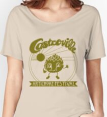The ORIGINAL CASTROVILLE ARTICHOKE FESTIVAL - Dustin's shirt in Stranger Things! Women's Relaxed Fit T-Shirt