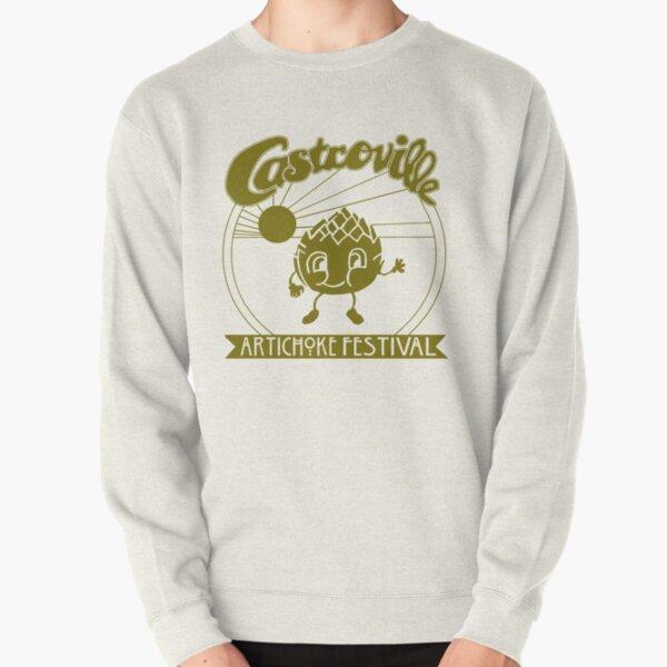 The ORIGINAL CASTROVILLE ARTICHOKE FESTIVAL - Dustin's shirt in Stranger Things! Pullover Sweatshirt