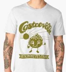 The ORIGINAL CASTROVILLE ARTICHOKE FESTIVAL - Dustin's shirt in Stranger Things! Men's Premium T-Shirt