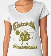 The ORIGINAL CASTROVILLE ARTICHOKE FESTIVAL - Dustin's shirt in Stranger Things! Women's Premium T-Shirt