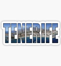 Tenerife Sticker
