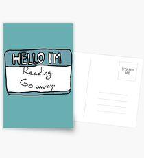Hello I'm Reading Postcards