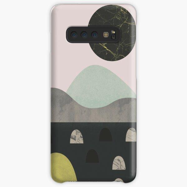 Stones and moon Samsung Galaxy Snap Case