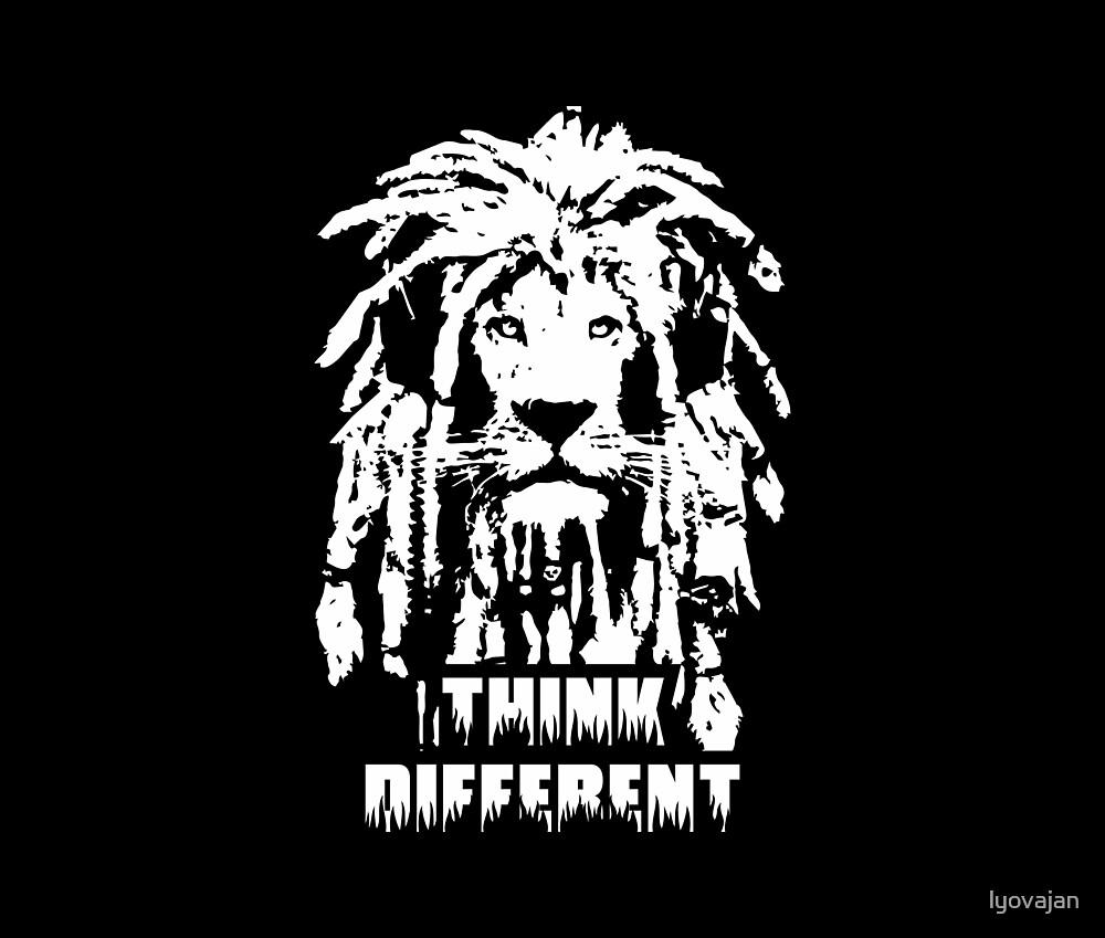 Hippie Lion by lyovajan