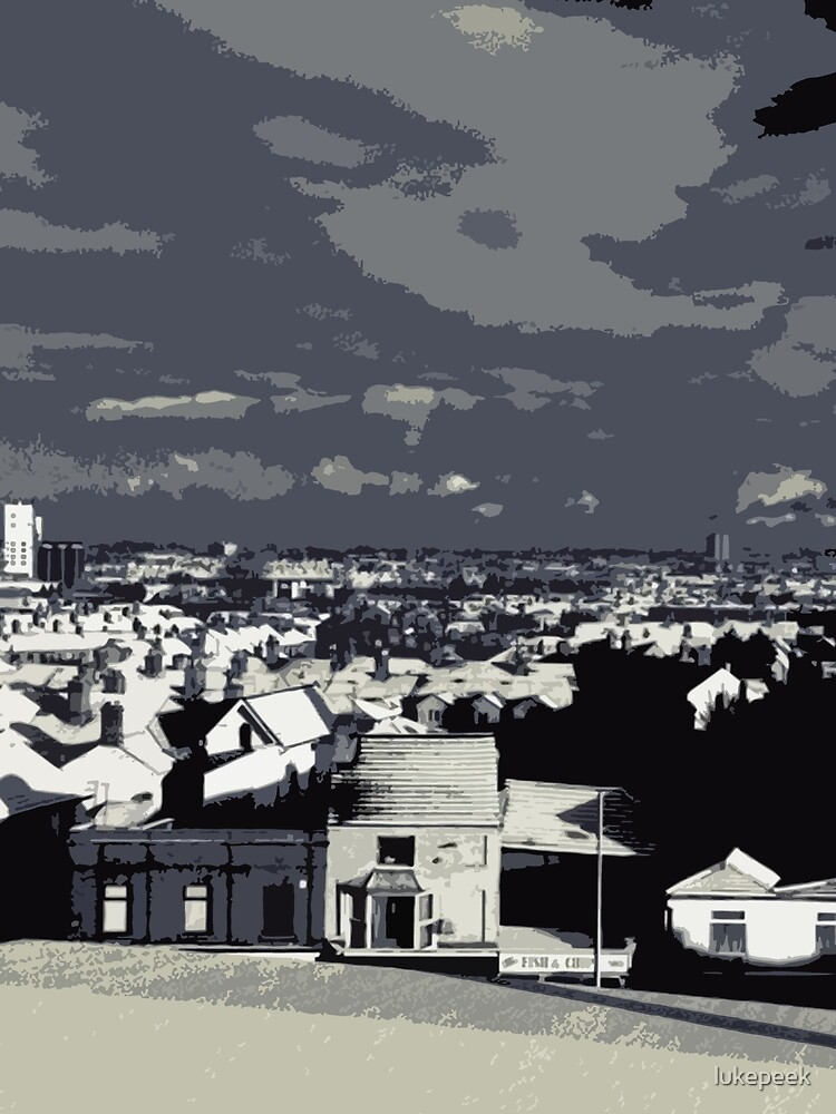 Snowy Rooftops by cryptees
