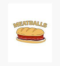 Meatballs Photographic Print
