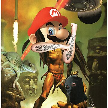 Enter the Sandman Mario by atomikboy