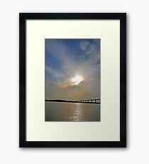 Johnson Bridge Framed Print