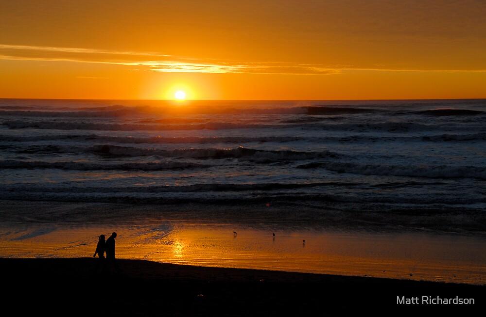 California sundown by Matt Richardson